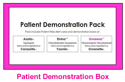 Patients Demonstration pack